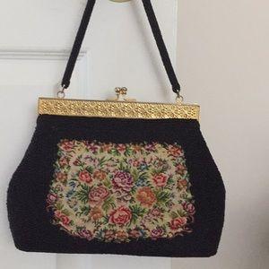 Vintage Black Sea pearl Handbag